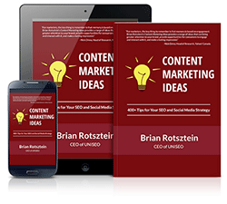 Content Marketing Ideas eBook