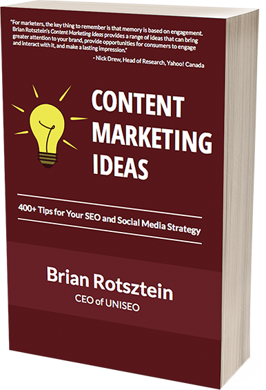 Content Marketing Ideas by Brian Rotsztein
